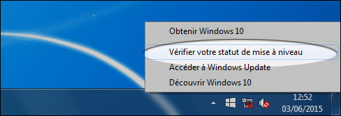 Annuler la réservation de Windows 10