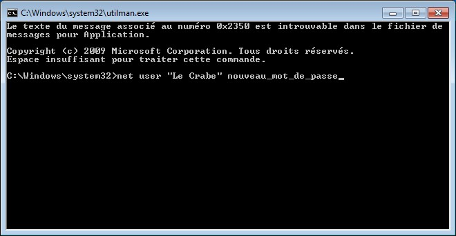 Windows cmd